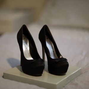 Black heels from ShoeDazzle